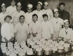 バタークリームケーキの製造